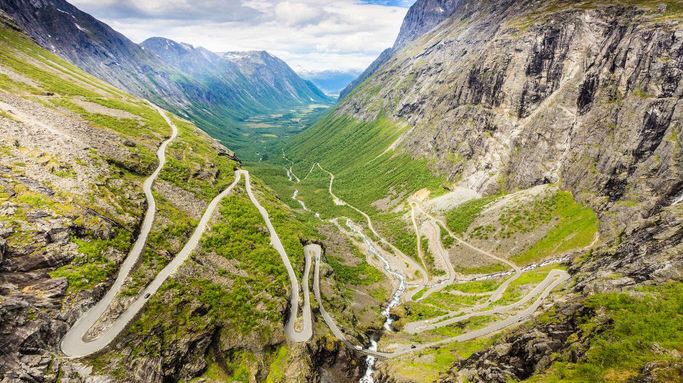 Panorama du Sud de la Norvège