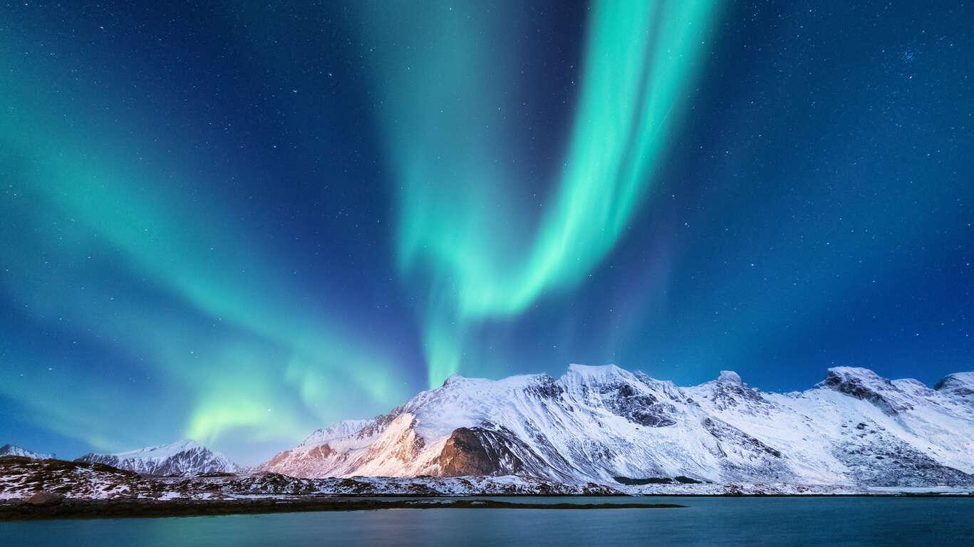 Séjour aurores boréales à Tromsø