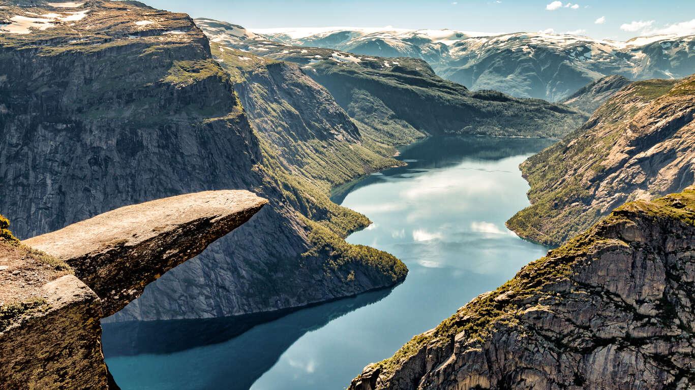 Randonnées spectaculaires en Norvège