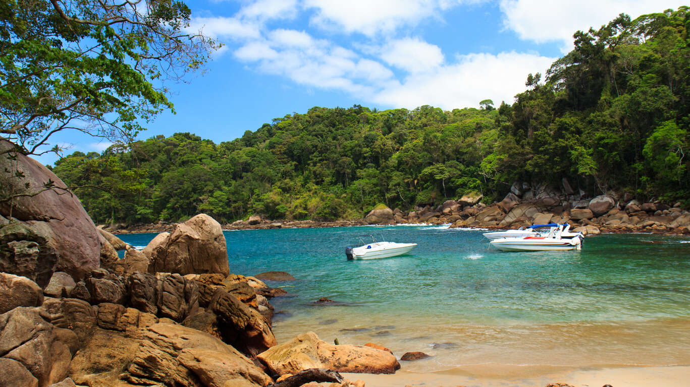 La Costa Verde, beauté du Sud : Iguaçu, Rio, Ilha Grande et Paraty