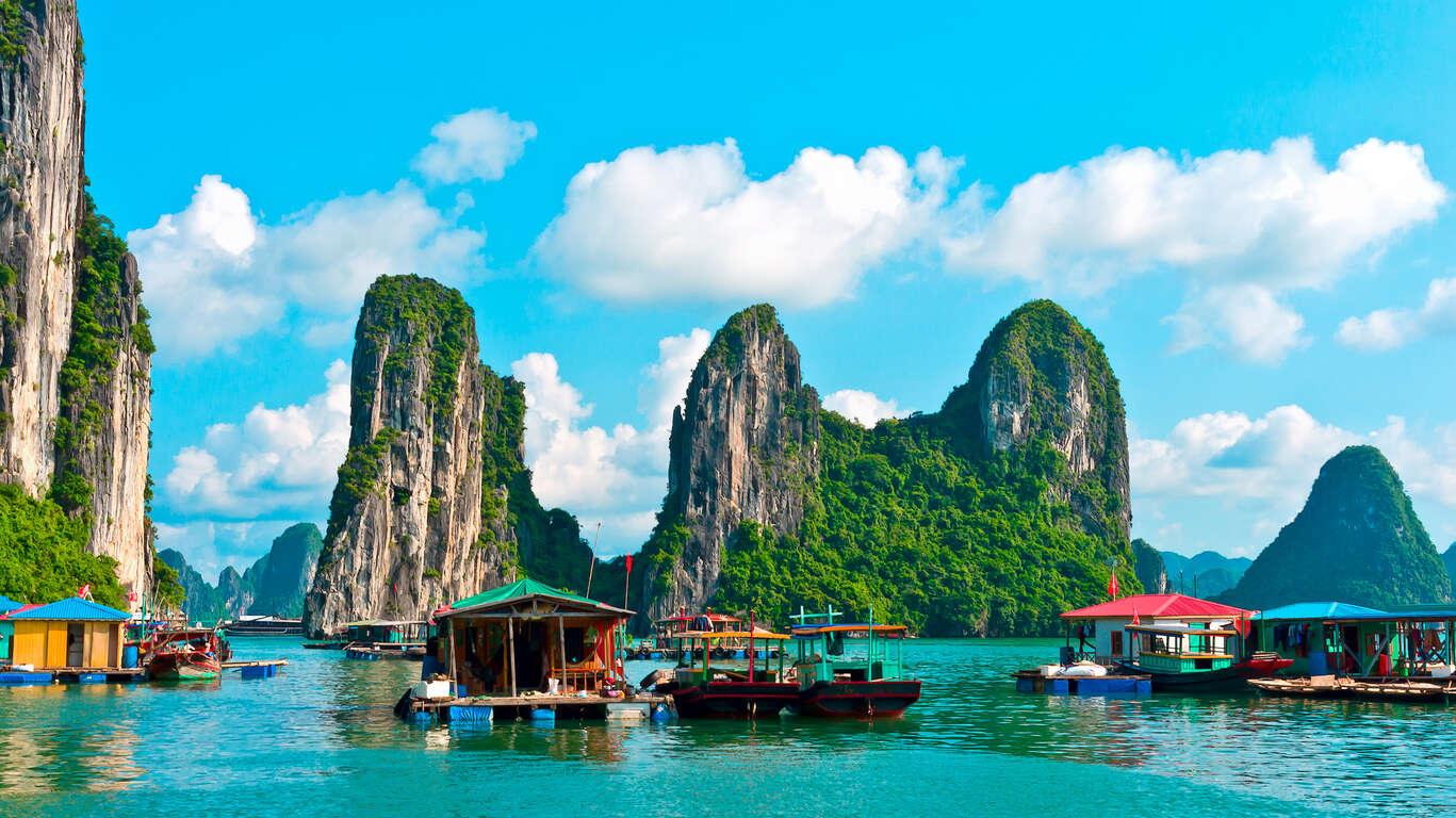 Voyage organisé au Vietnam en petit groupe