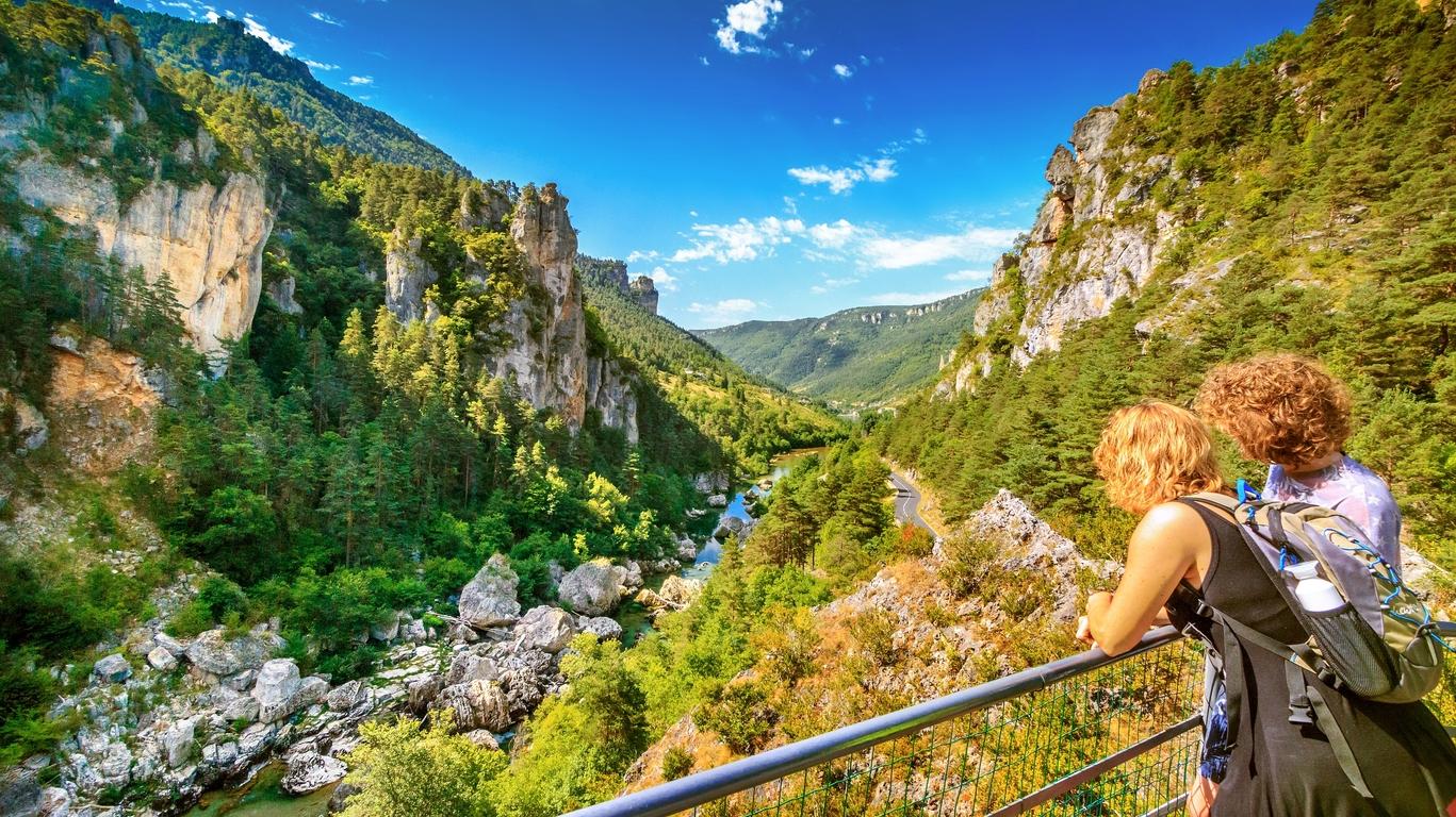 Randonnée dans les gorges du Tarn, la Jonte et Causse Méjean