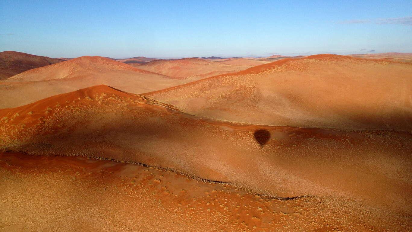 La Namibie vue du ciel