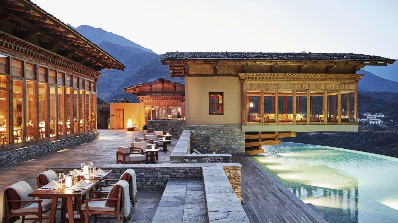 Le Bhoutan en hébergements d'exception : les hôtels Six Senses