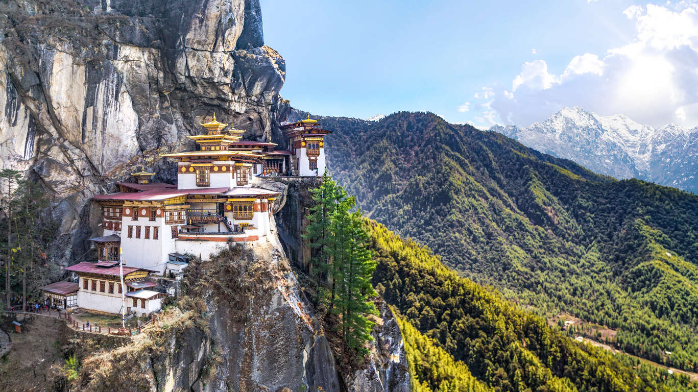 Panoramas du Bhoutan