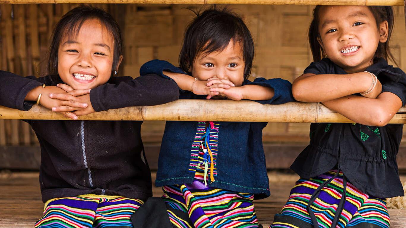 Le Laos en famille