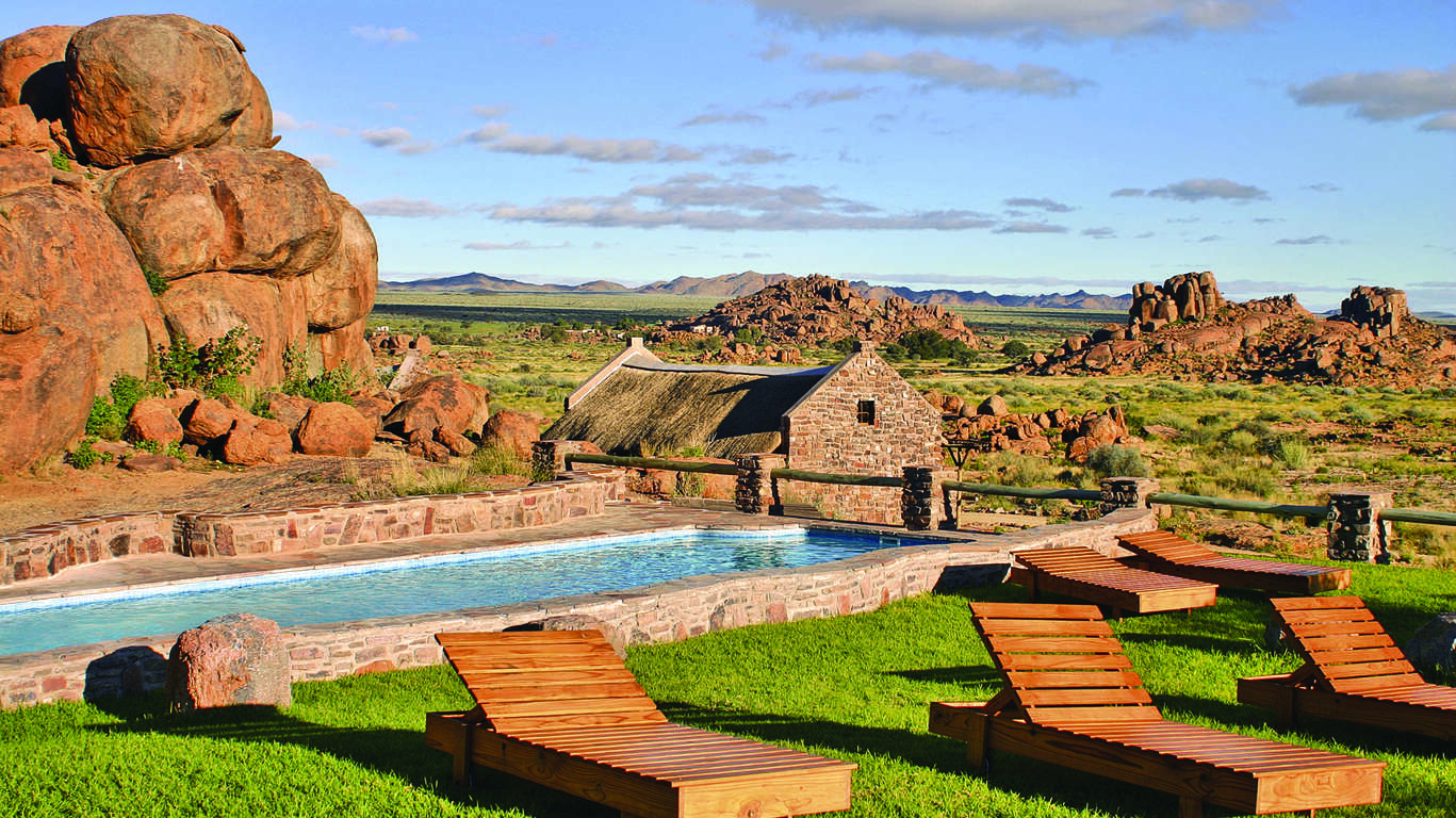 Déserts et Canyon: Kalahari, Namib et Canyon du Fish River