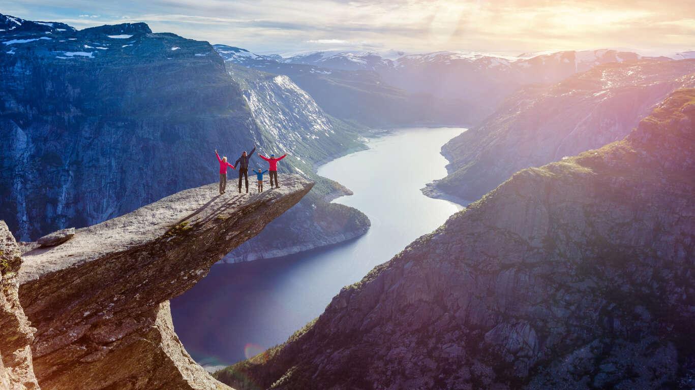 Ma famille en Norvège
