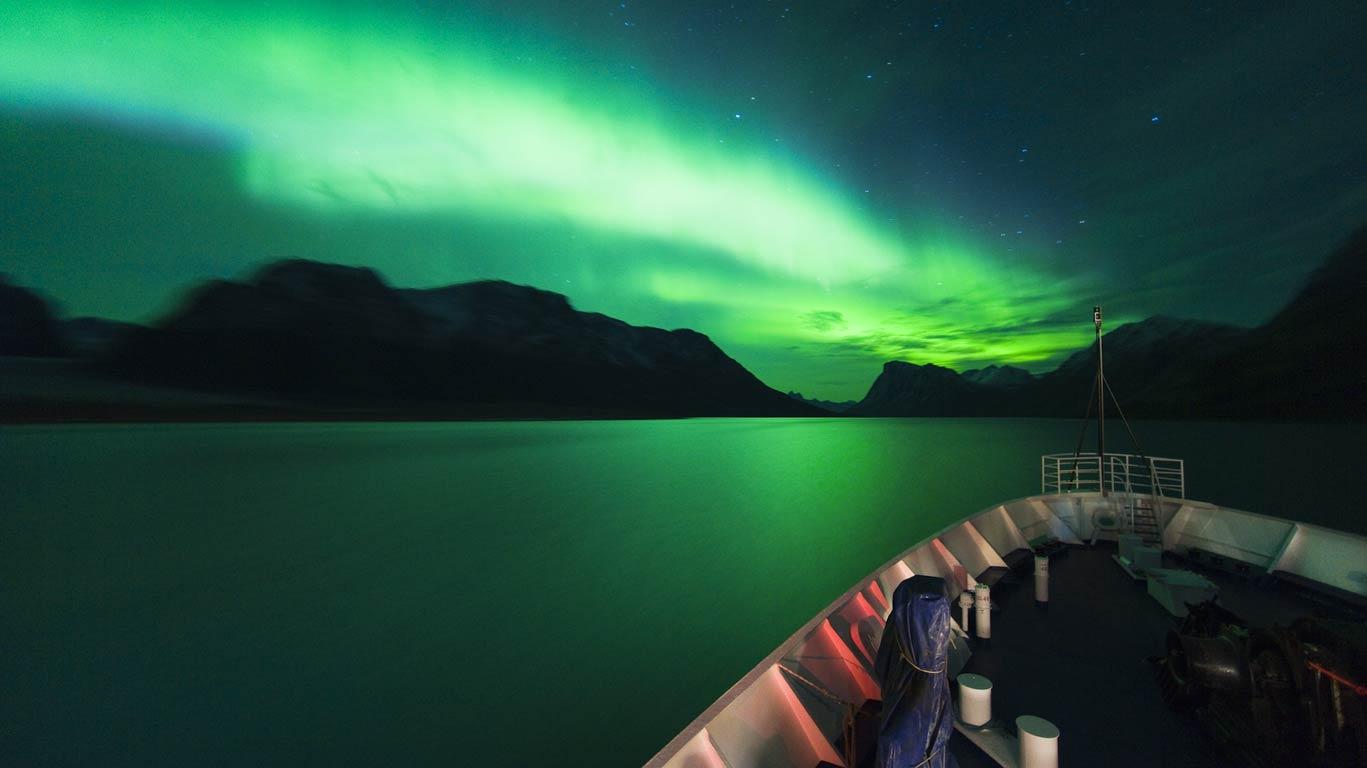 Croisières en Islande et au Groënland