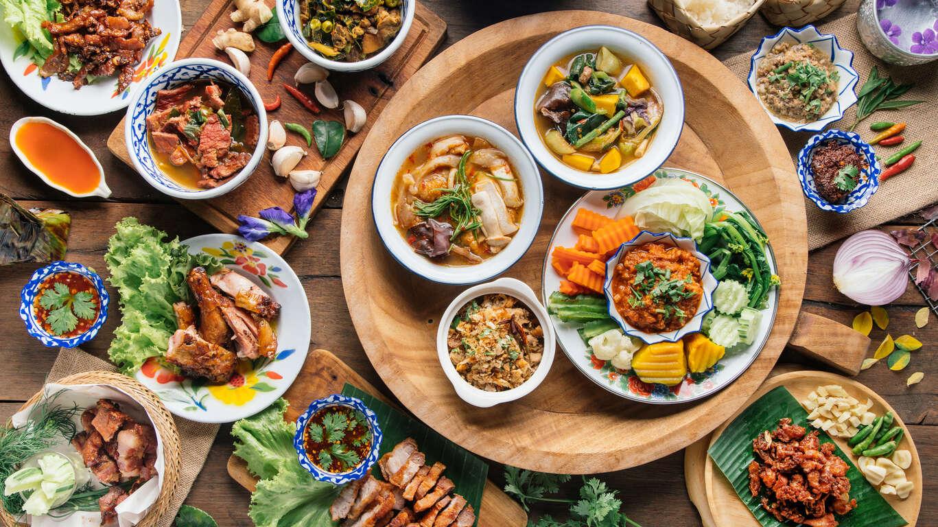 Voyage gastronomique en Thaïlande