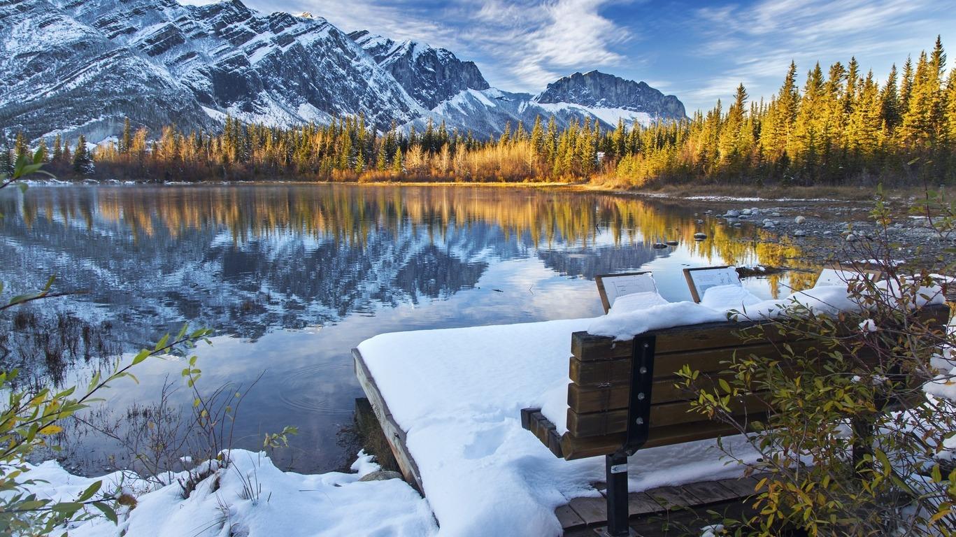 Circuit au Canada en hiver
