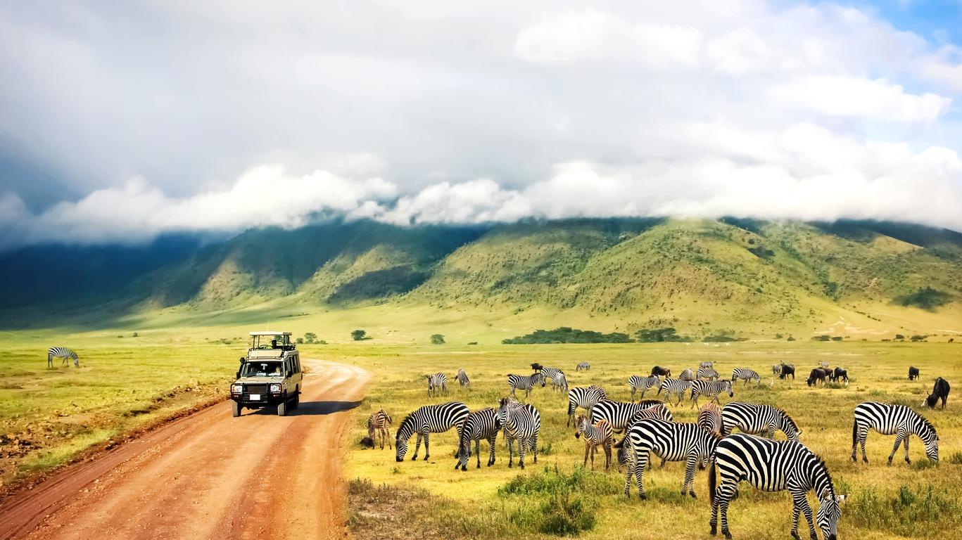 Voyage au Cratère de Ngorongoro