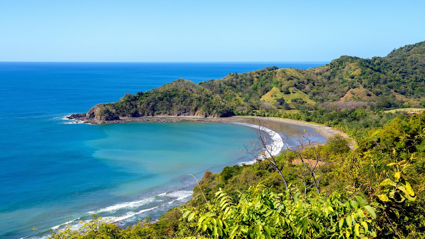 Voyage sur la côte pacifique du Costa Rica