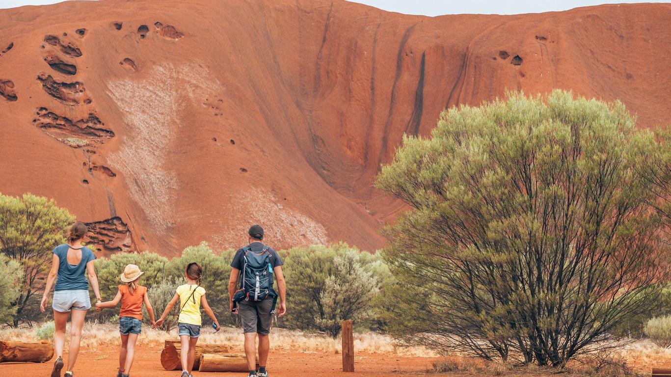 Voyage à Ayers Rock (Uluru)