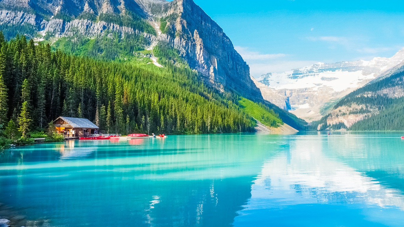 Voyage dans l'Ouest du Canada en été