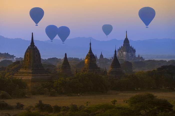 Voyage organisé en Birmanie