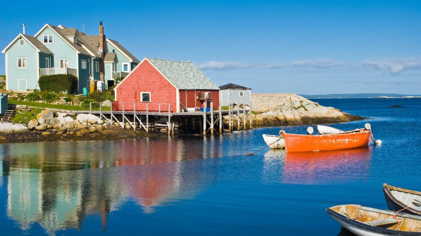 Voyage au Nouveau-Brunswick, la Nouvelle-Écosse et Gaspésie