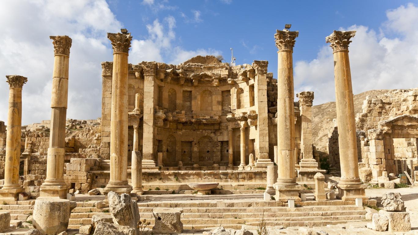 Voyage à Jerash