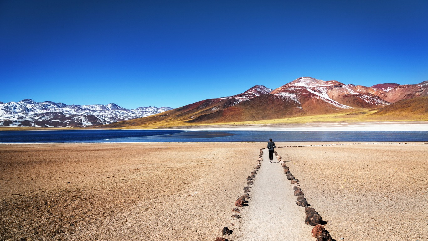 Circuit au Chili