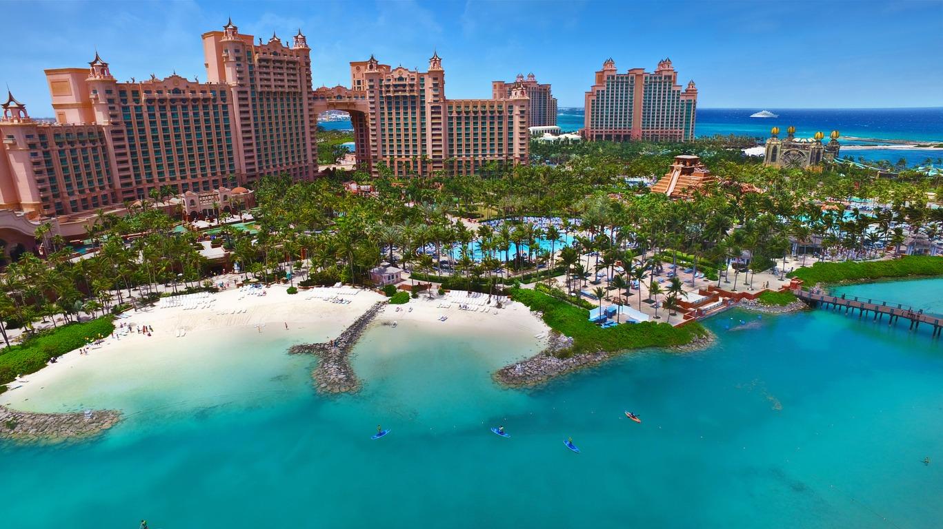 Voyage à Paradise Island