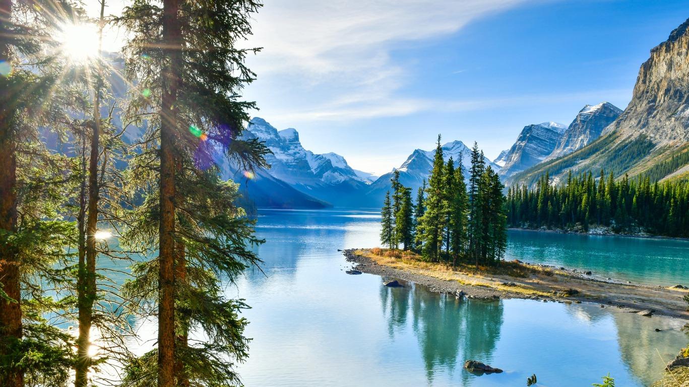 Voyage à Jasper en Alberta