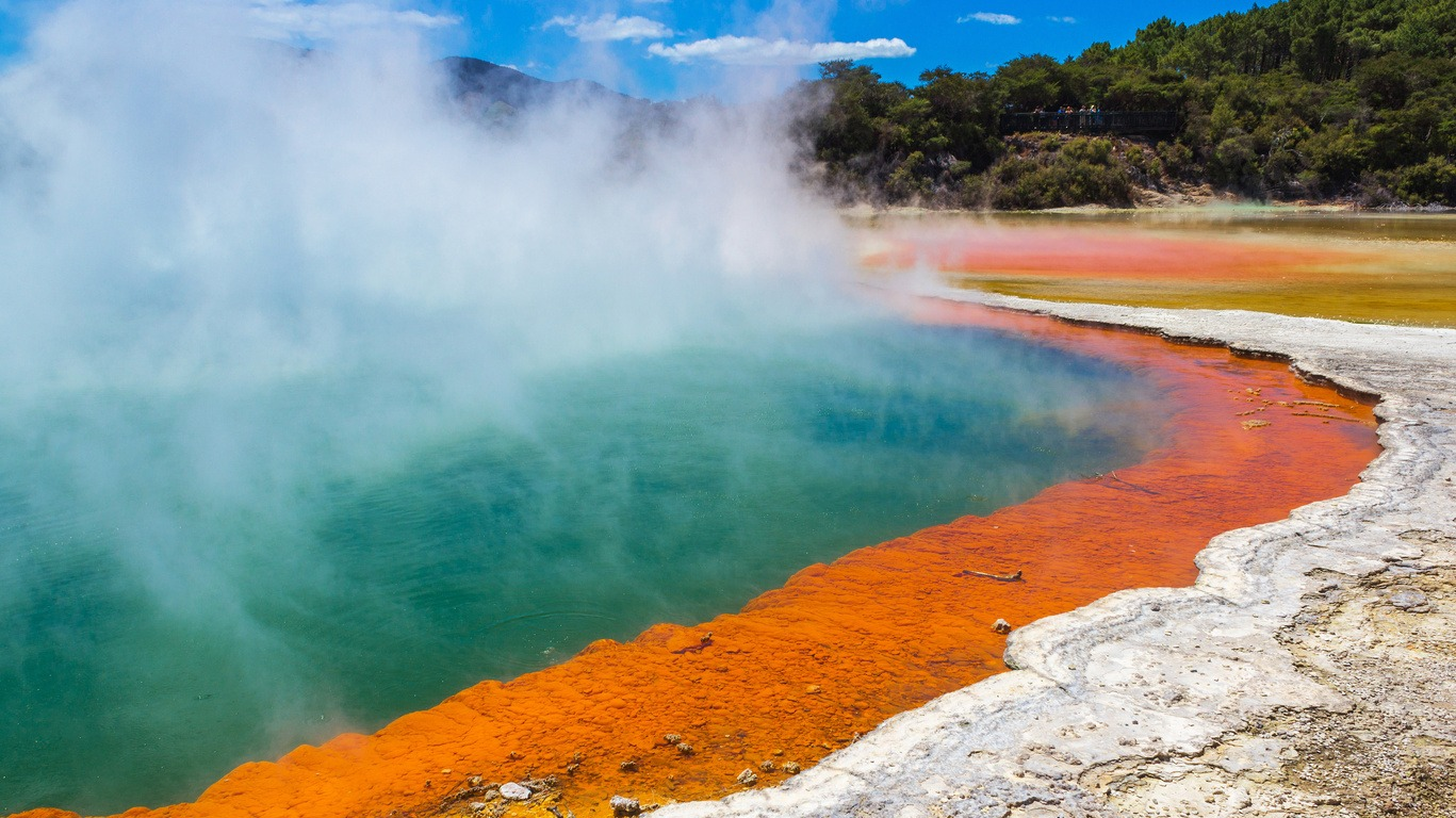 Voyage à Rotorua