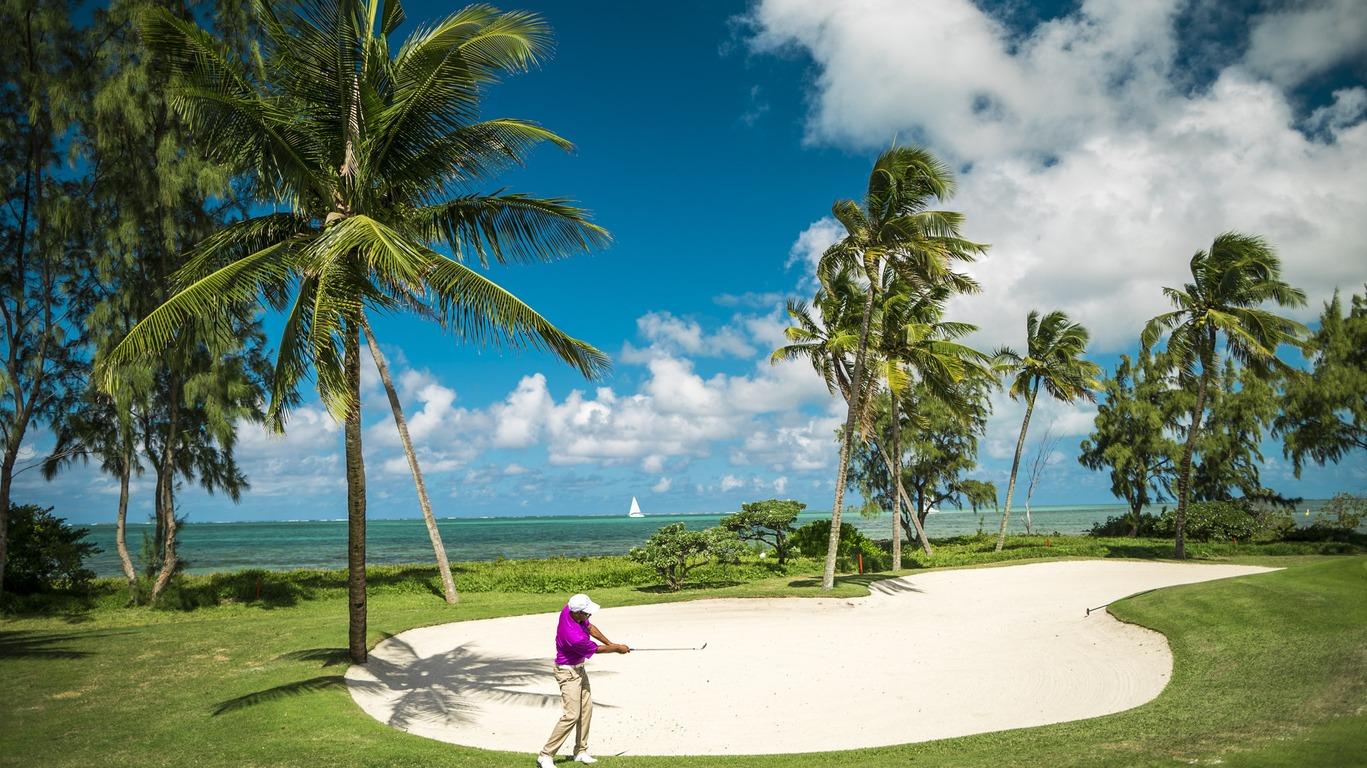 Voyage Golf à Maurice
