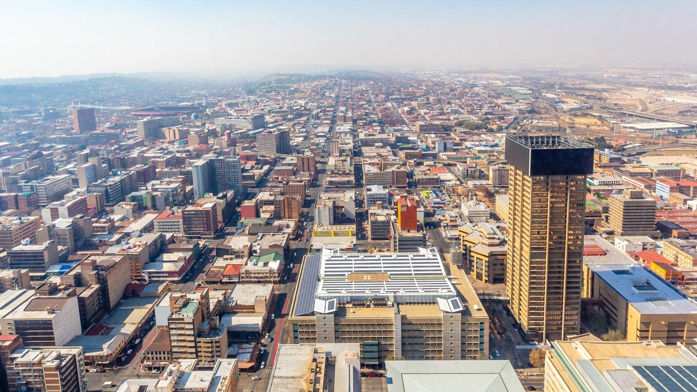 Voyage à Johannesburg