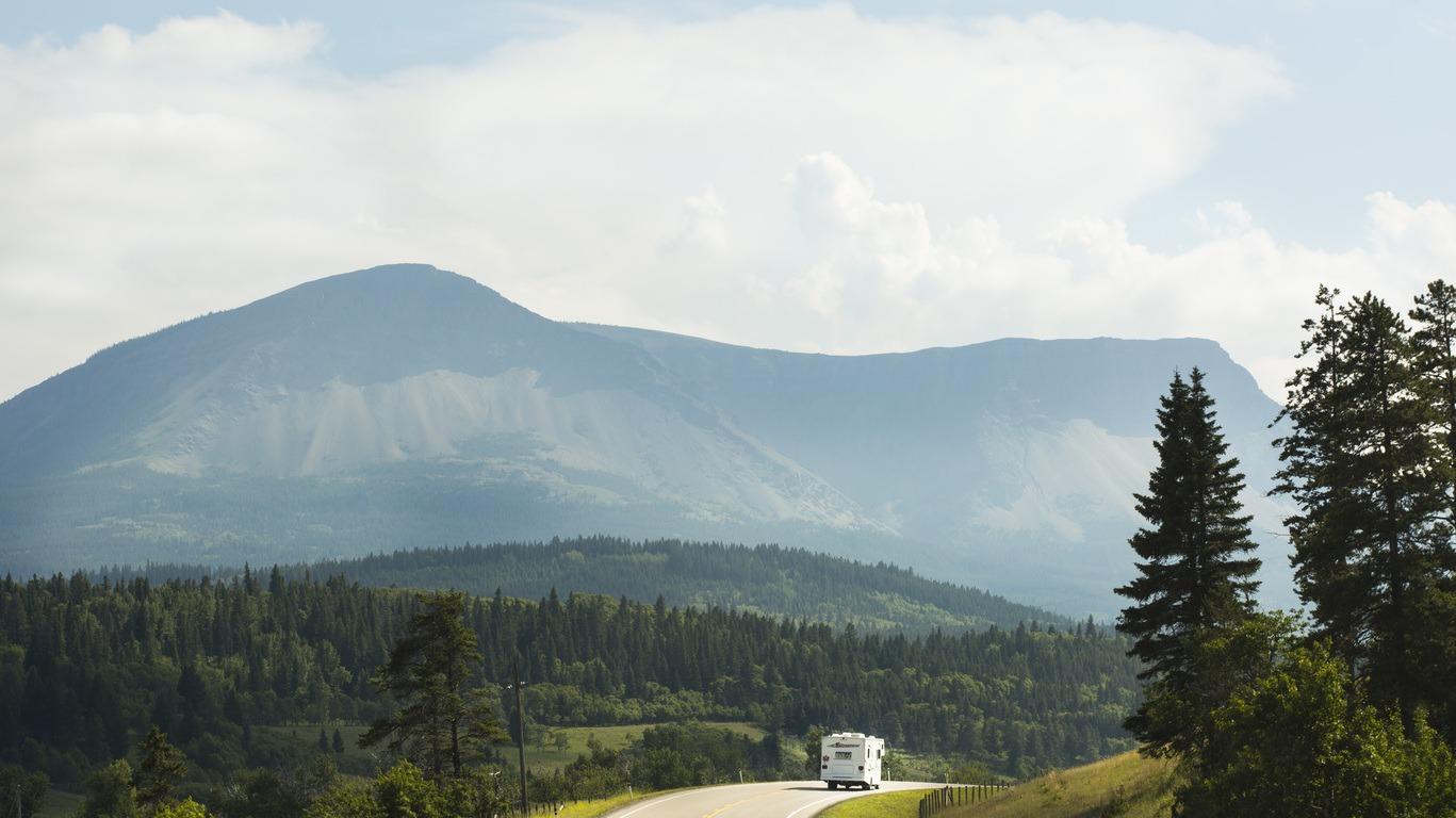 Autotour au Canada