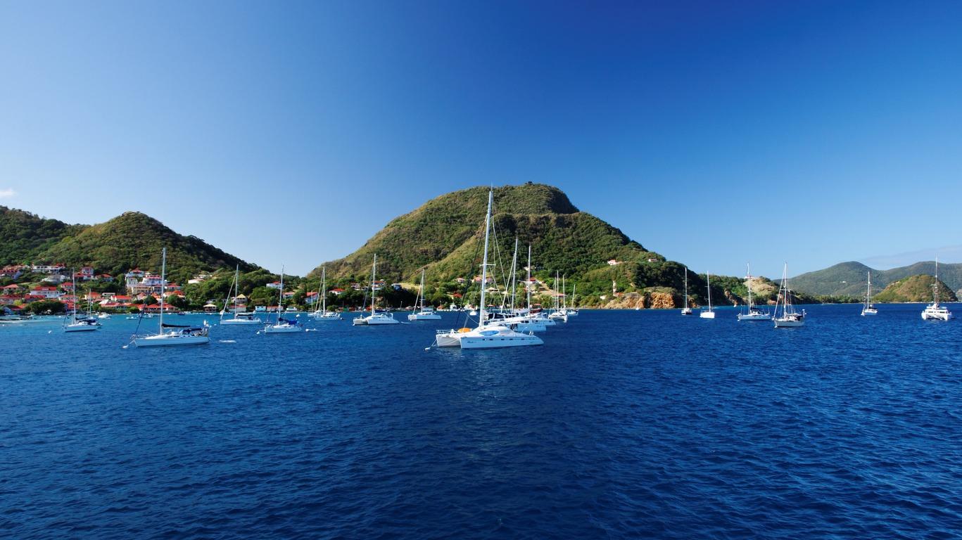 Les Antilles françaises à catamaran