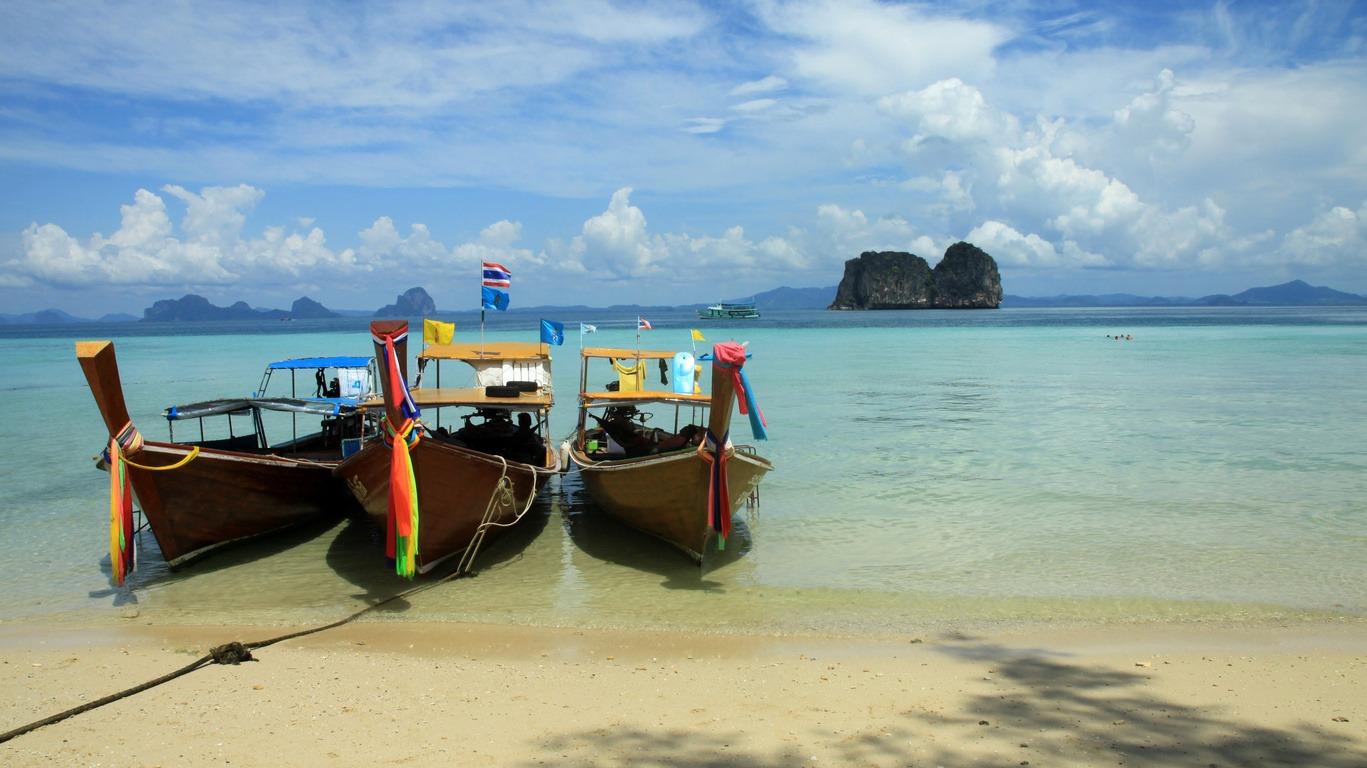 Krabi entre terre et plage, à contre courant