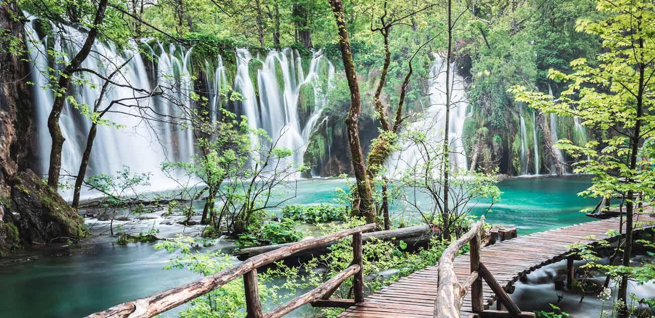 Du vert au bleu : la Croatie à pied