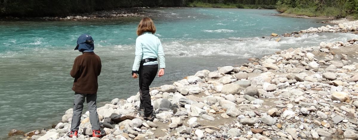 Voyage dans l'Ouest canadien en famille