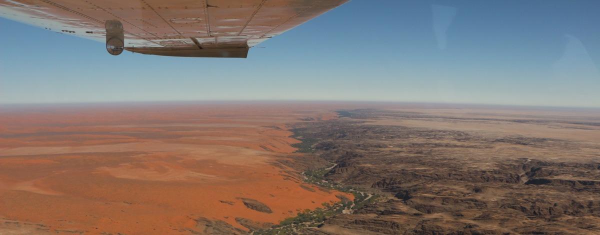 Voyage d'exception: la Namibie en avions-taxis
