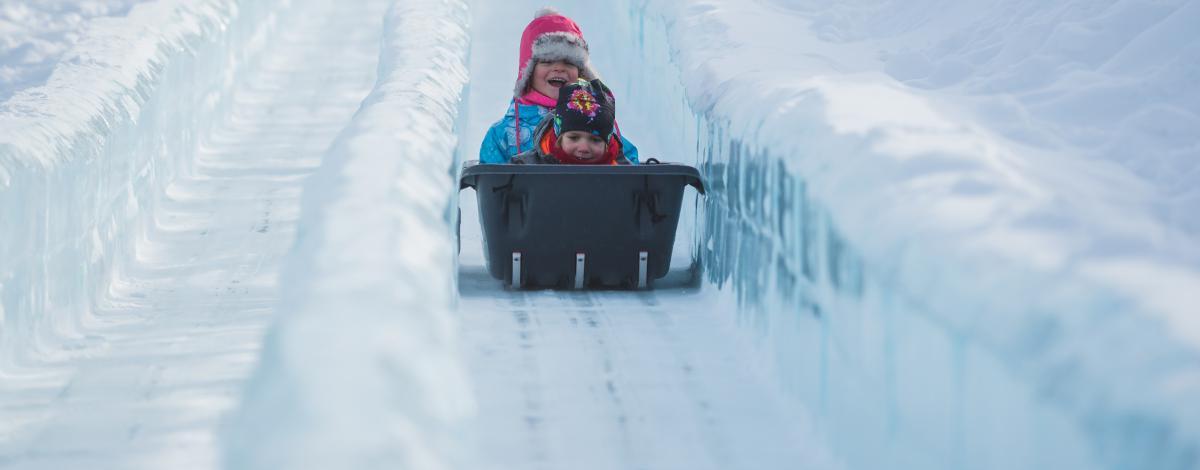 Voyage au Québec en famille en hiver