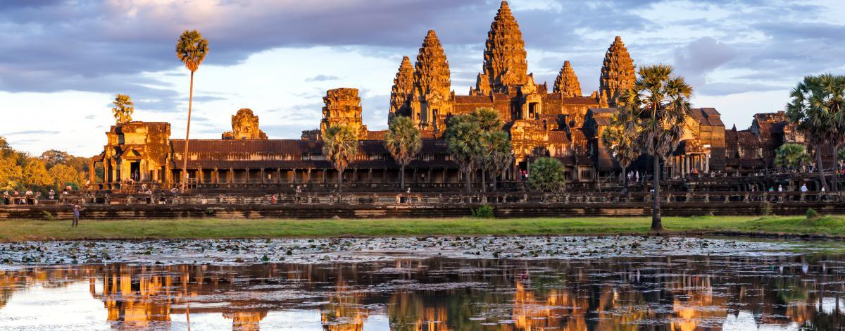 Du Laos aux Temples d'Angkor