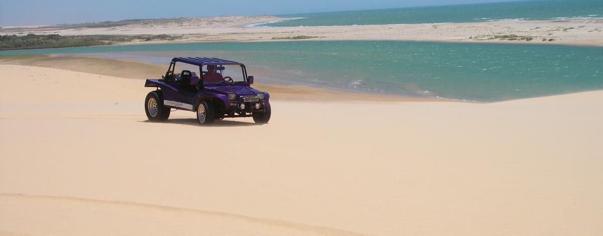 Les plus belles plages du Brésil en buggy : De Natal à Fortaleza