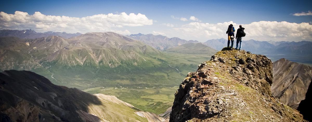 Randonnée en Alaska, la dernière frontière