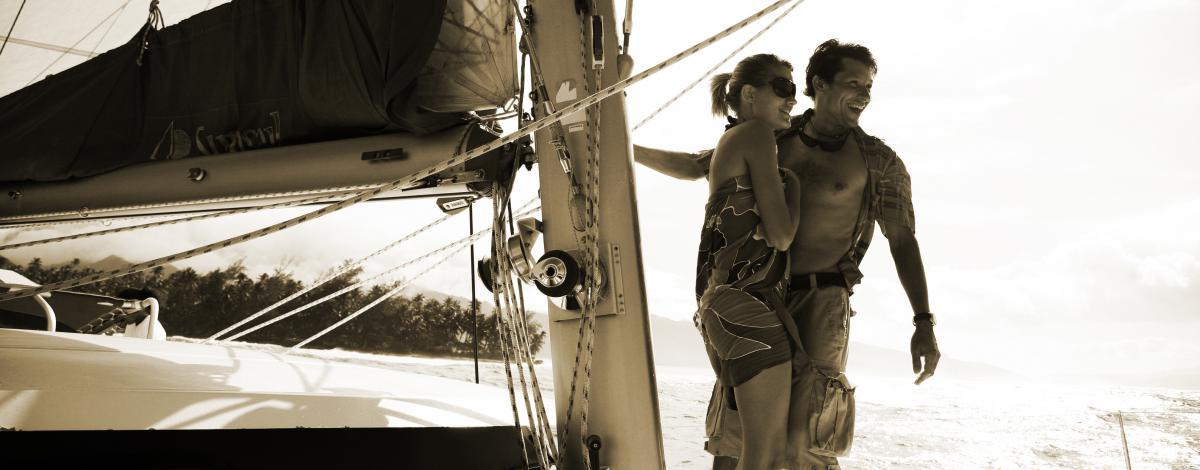 Croisiere en catamaran et séjour à Rangiroa