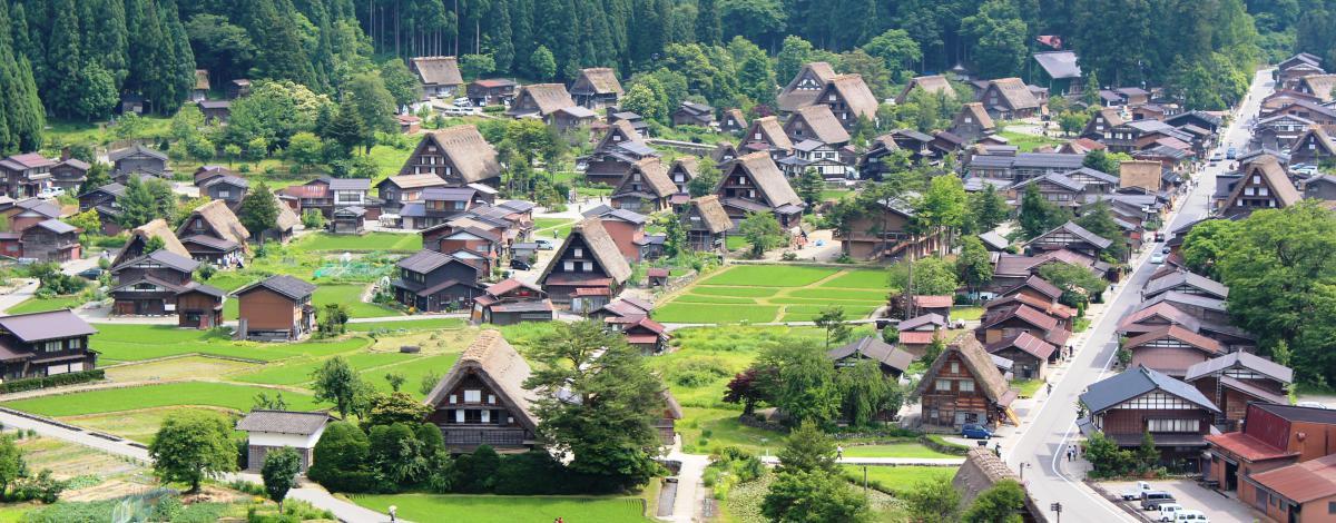 Le Japon en traversant les Alpes japonaises