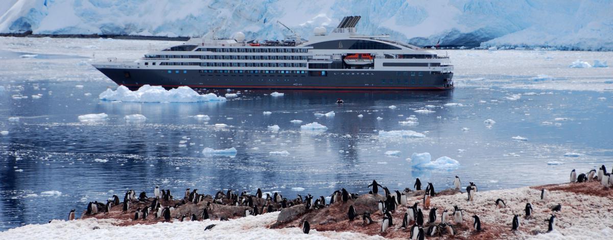 Les fjords Chiliens et la Patagonie à bord du Ponant