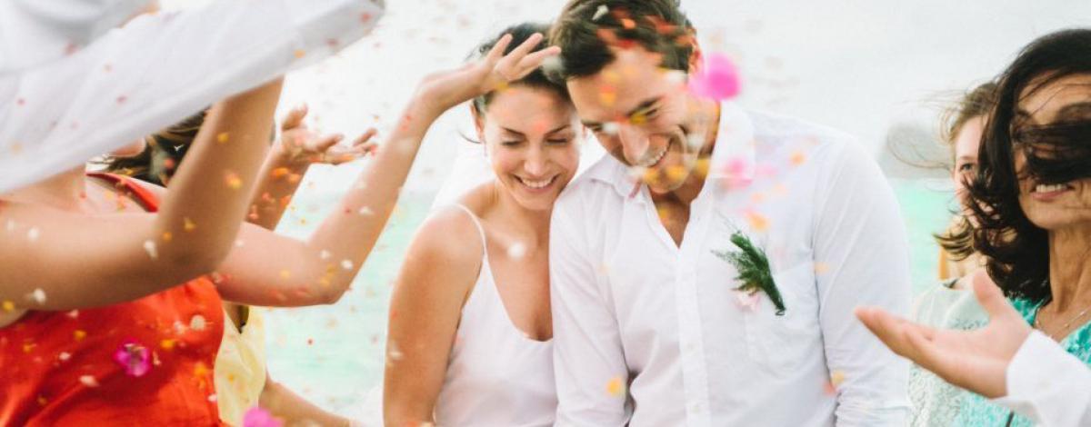 Mariage civil à l'hôtel Paradise Cove 5*