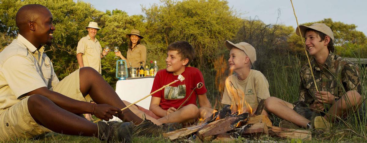 Safari en famille au Botswana et Chutes Victoria