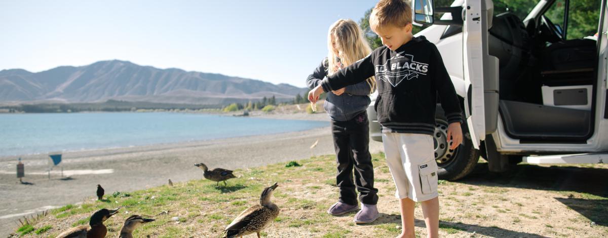 La Nouvelle Zélande en famille et en camping car