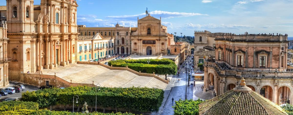La Sicile orientale, des cités baroques à Taormina et l'Etna