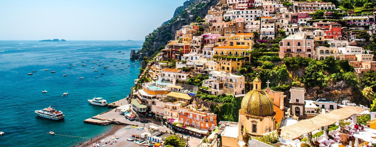 Séjour de Naples à la côte amalfitaine, entre ciel et terre