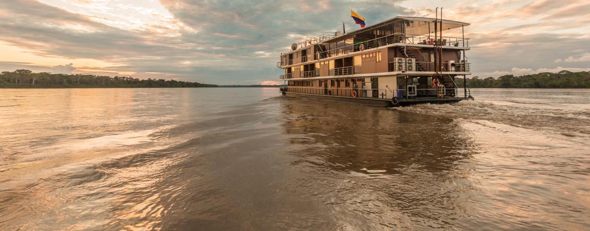 Croisière en Amazonie Equatorienne à bord du Manatee