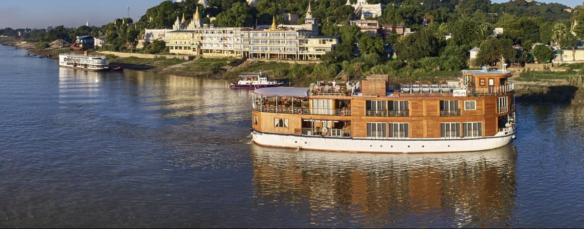 Croisière de luxe de Mandalay à Bagan, Lac Inle et Yangon en hôtels 4*