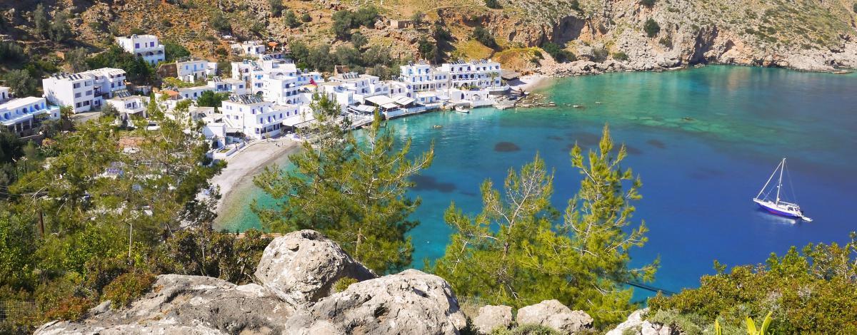 La Crète en deux étapes