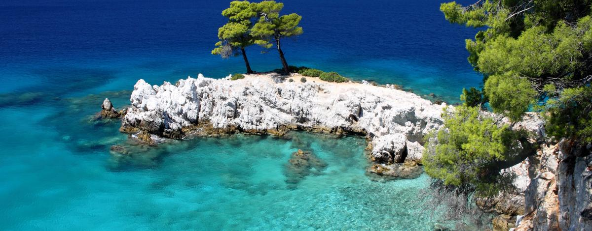 Les Sporades 3 îles vertes : Skiathos, Skopelos & Alonissos